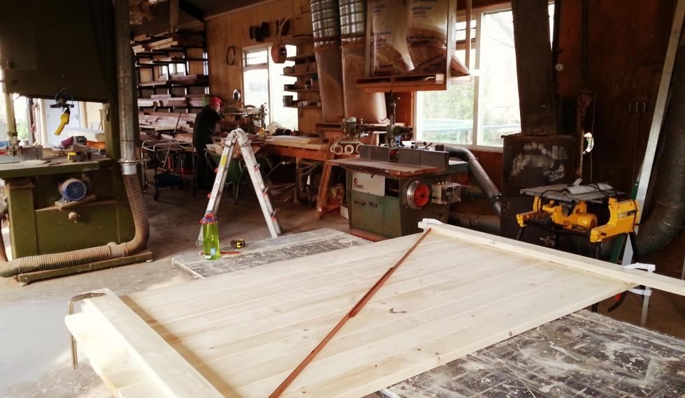 stapelbed en kast van nieuw steigerhout R04 001